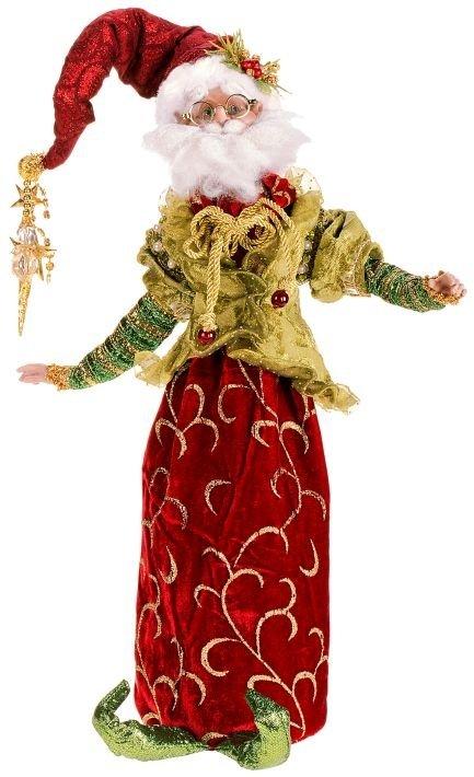 christmas ornament wine bag