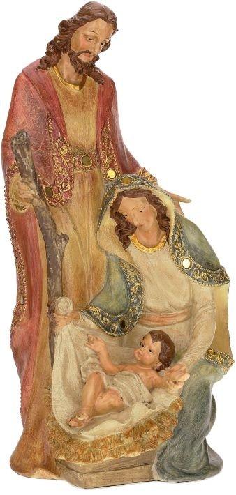 angelic holy family figurine